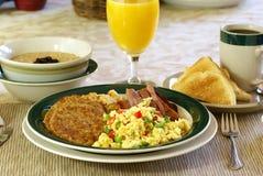 热诚的早餐 库存照片