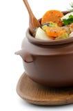 热诚的菜炖煮的食物 库存照片