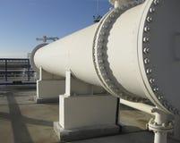 热转换器在精炼厂 免版税图库摄影
