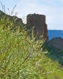热那亚人的堡垒在Balaklava 免版税库存照片