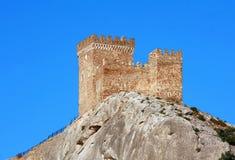 热那亚人的堡垒 免版税图库摄影