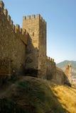 热那亚人的堡垒 免版税库存图片
