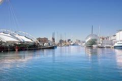 热那亚港口 免版税库存图片