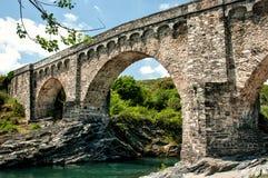 热那亚的桥梁 库存图片