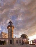 热那亚的灯塔 免版税库存照片