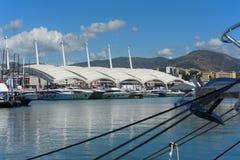 热那亚,国际小船展示的第57编辑 图库摄影