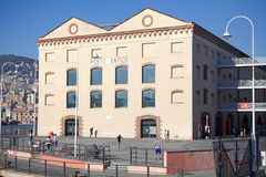 热那亚,意大利老港口  图库摄影