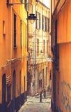 热那亚,意大利-老镇 免版税库存照片