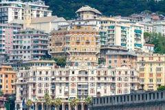 热那亚 老处所 免版税库存照片