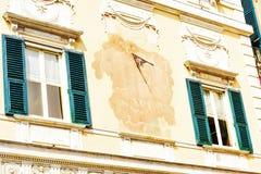 热那亚细节在意大利 免版税库存图片
