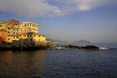 热那亚- Boccadasse 免版税图库摄影