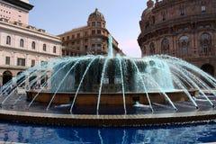 热那亚- De法拉利Square 库存图片