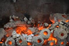 热采煤 免版税图库摄影