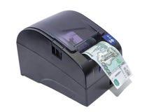 热量传送打印机 库存照片
