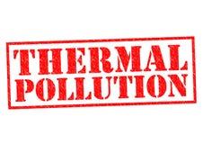 热量污染 免版税库存图片