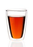 热量茶玻璃用茶 库存照片