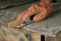 热金属制品红色焊接 库存照片