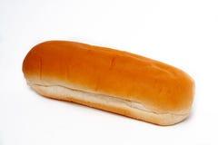 热面包的狗 免版税图库摄影