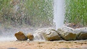 热水爆发 影视素材