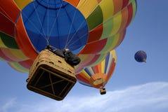 热3个的气球 免版税库存图片