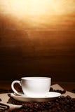热coffe的杯子 免版税库存图片