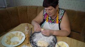 烹调传统食物 股票视频