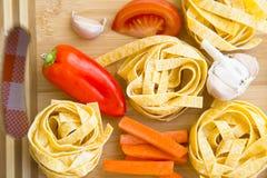 烹调健康食物概念 免版税库存图片