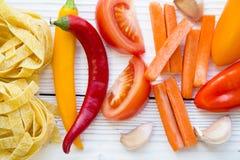 烹调健康食物概念 库存图片