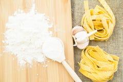 烹调健康食物概念 免版税库存照片