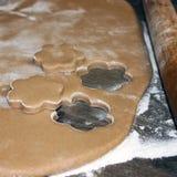 烹调在厨房里 面包店设计图象产品 库存照片