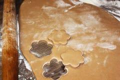 烹调在厨房里 面包店设计图象产品 免版税库存照片