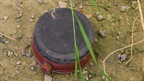 烹调在土壤的设备 股票录像