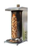 烹调在垂直的唾液烤箱的Shawarma 库存照片