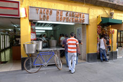 烹调墨西哥 库存图片
