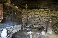 烹调壁炉 免版税库存图片