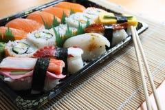 烹调寿司 图库摄影