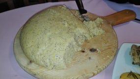 烹调意大利语的食品成分 库存照片