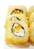 烹调日本人寿司 免版税库存照片