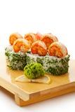 烹调日本人寿司 库存照片