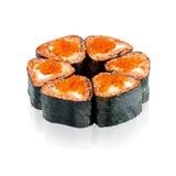 烹调日本maki寿司 免版税库存图片
