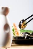 烹调日语 免版税库存图片