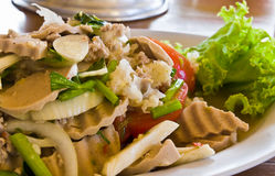 烹调泰国美味 库存照片