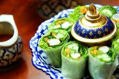 烹调泰国 免版税库存图片