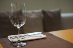 烹调消耗大的haute餐馆集合表 库存图片
