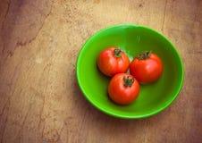 烹调的健康新鲜蔬菜成份在土气setti 免版税库存图片