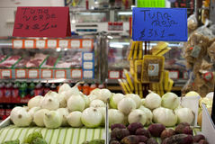 从头烹调的新鲜食品 免版税库存照片