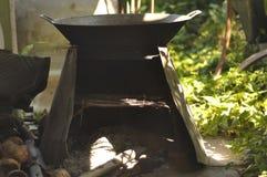 烹调的木炭 库存照片