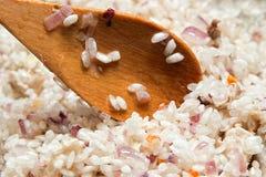 烹调米 免版税库存照片