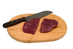 烹调肉 图库摄影