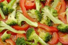烹调蔬菜 免版税图库摄影